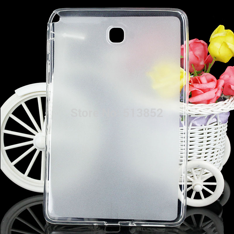 Case For Samsung Galaxy Tab A T350 T355 SM-T355 8 Inch High Quality Pudding Anti Skid Soft Silicone TPU Protection