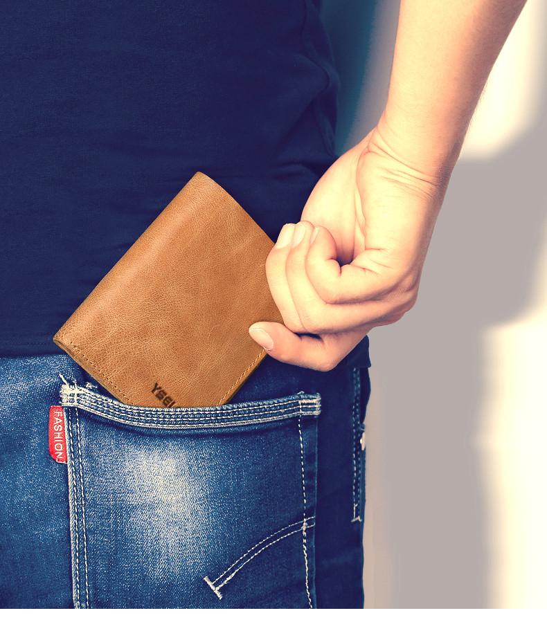 genuine leather men wallets  (5)