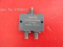 [БЕЛЛА] два Narda делитель мощности 4312-2 1-2 ГГц SMA