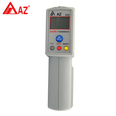 цена на AZ8868 digital infrared temperature meter with measuring range -20 420C AZ-8868 AZ
