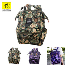 Samstrong Yadian 20L Women Men Girl Boy Travel Backpack  Camouflage Bag Daily Fashion Green No. S Climbing