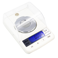 50pcs BY DHL / Fedex 0.001g 50g Portable Digital Scales Jewelry Diamond Gem Carat Electronic Counting Function