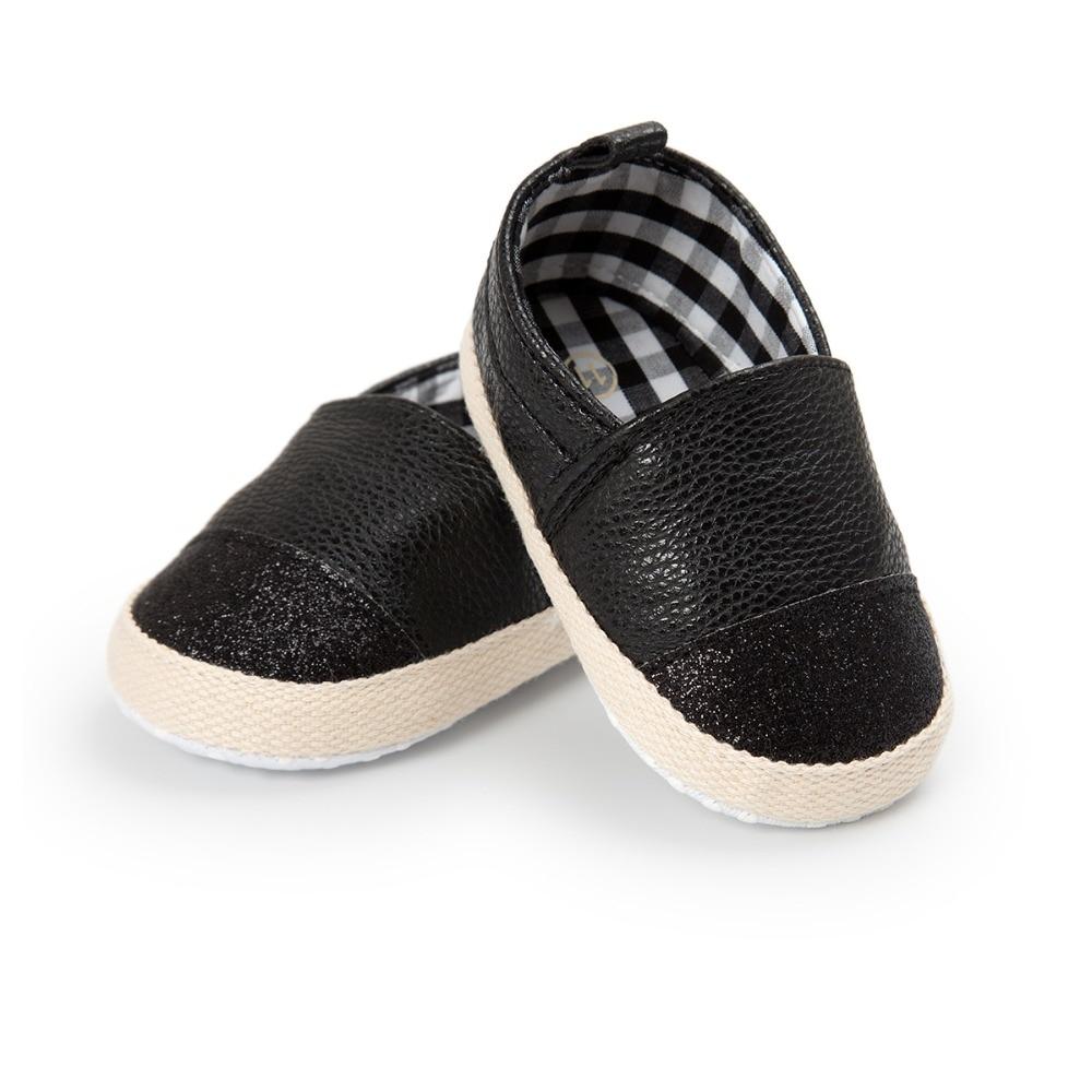4 kleuren merk lente / herfst baby schoenen mode gouden pu lederen - Baby schoentjes - Foto 5