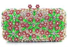 Neue gehobenen Damen Abendtaschen Mode Kristall Frauen Kupplungen mit Schulter Kette für Hochzeit Prom Party