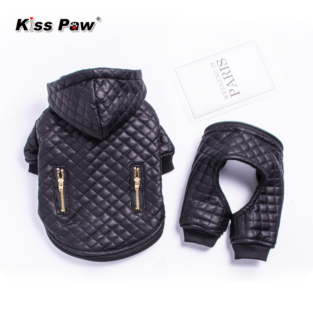 Waterproof Small Pet Dog Clothes Winter Dog Jumpsuit Four Leg Hoodie Coat Jacket Dog Overalls Chihuahua Yorkie Puppy Clothing in Dog Coats Jackets from Home Garden