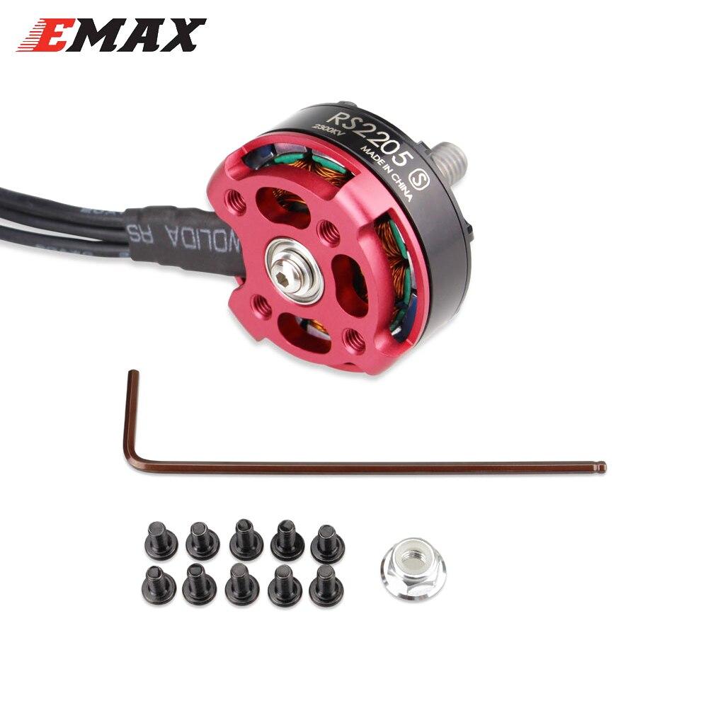 4set/lot EMAX RS2205S 2300KV/2600KV Racing Edition Brushess Motor 3-4S for DIY mini drone QAVR250 quadcopter