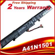 Оригинальный аккумулятор 15 в a41n1501 для asus gl752jw gl752