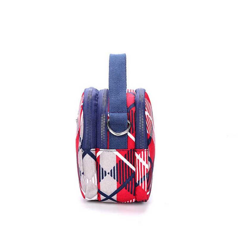 HANN INGRY для мужчин и женщин тонкий маленький наплечный карман кошелек мобильный телефон легкий и водонепроницаемый мини Нейлоновая Сумочка H303D