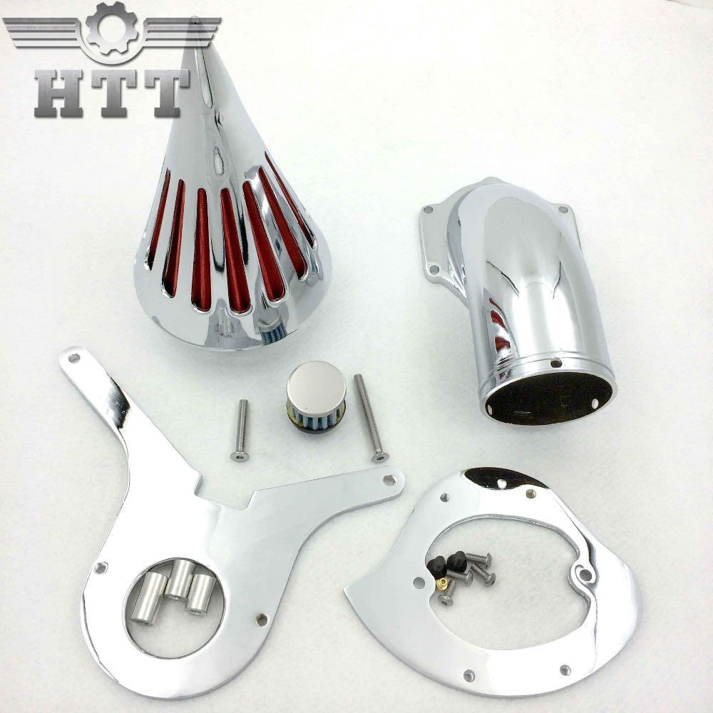 Aftermarket free shipping motorcycle parts Spike Air Cleaner Kits filter for Honda Aero 750 VT750 all year 1986-2012 Chrome