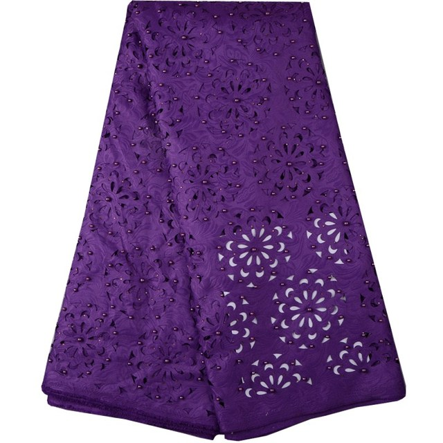 2017 Simple Design Purple Guipure Lace Cheap Price And free ...