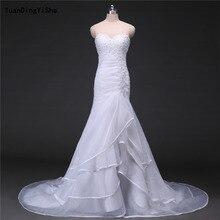 YuanDingYiSha Mermaid Wedding Dress Chapel Train