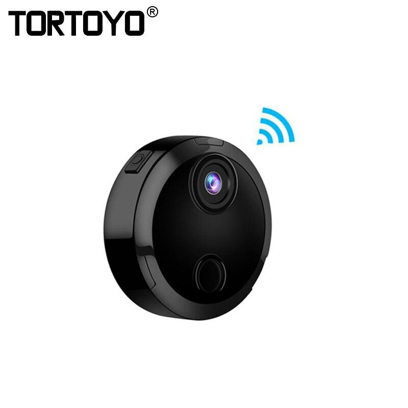HDQ15 Smart Wifi Mini caméra HD 1080 P IP réseau caméscope 12 IR Vision nocturne capteur de détection de mouvement voiture sport Action DV DVR-in Mini caméscopes from Electronique    1