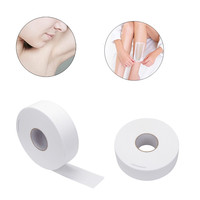 High Quality Nonwoven Wax Strip Paper Roll White Waxing Remover 100 Yards Hair Removal For Legs