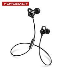 цена на VCHICSOAR S7 Sports Bluetooth Headphones Wireless Earphones Bass Stereo Bluetooth 4.1 Running Headset with Mic for xiaomi huawei