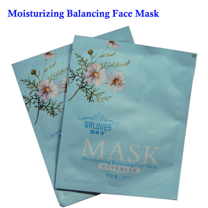 Sheet Mask Hyaluronic Acid Facial Mask Moisturizing Brightening and Whitening Skin Care Treatment Mask 30ml/ 1PCS hyaluronic acid face moisturizing mask anti wrinkle taiwan thin silk sheet mask plant extract natural no additives chrng