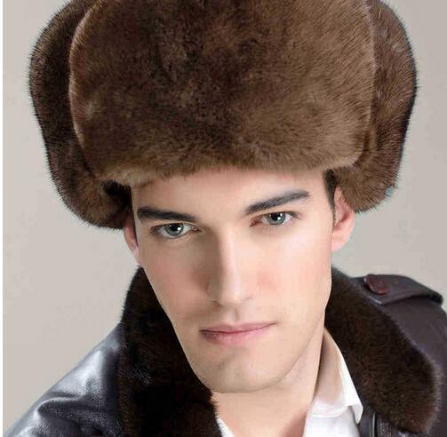 Fur Hats Feng's-Hat Army-Cap Minks Winter New Red Man The -88 During Lei New-Product