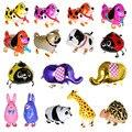 29 tipos de globos de animales para caminar lindo gato perro conejo Panda Tigre Panda globos bolas de mascotas fiesta de cumpleaños decoración