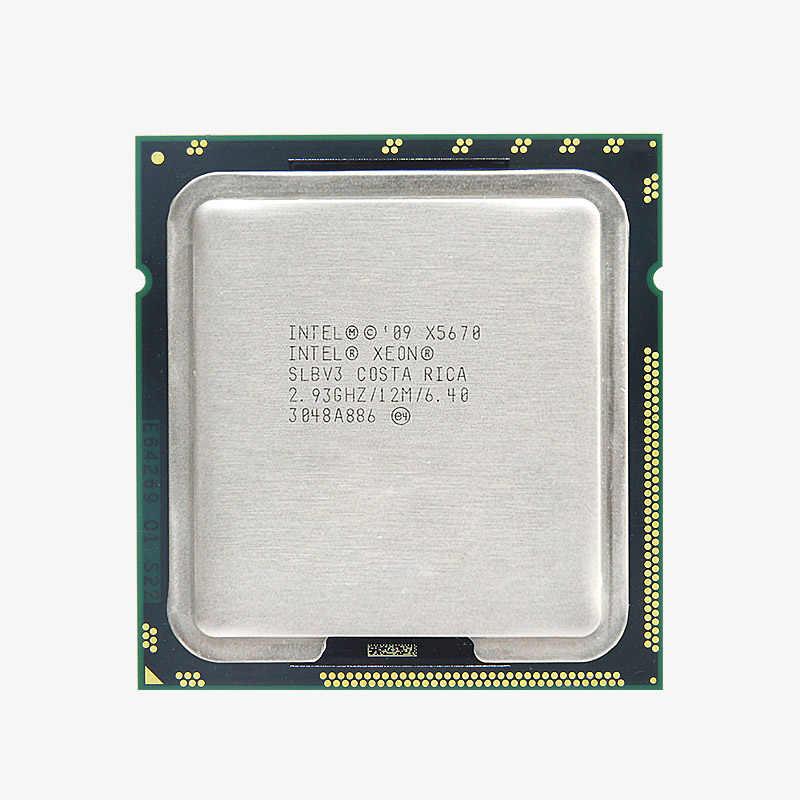 Скидка материнская плата комплект БРЕНД HUANAN ZHI X58 Pro LGA1366 материнская плата с ЦПУ Intel Xeon X5670 ram 32G (2*16G) DDR3 регистровая и ecc-память