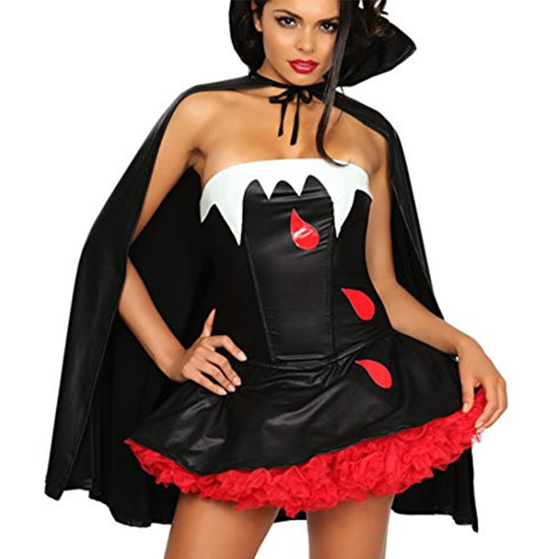 high quality 3 wishes womens bite me costume halloween vampiere costumes fancy dresses w847039 - Wish Halloween Costumes