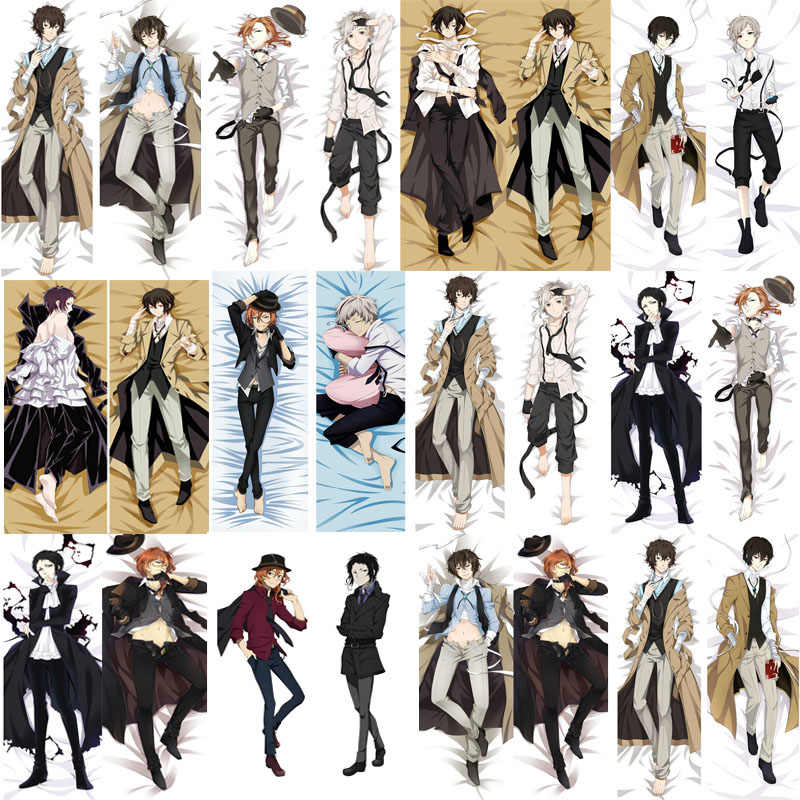 November update Anime Bungo Stray Dogs Nakajima Atsushi Osamu Dazai hugging Body pillowcase Dakimakura body pillow cover case
