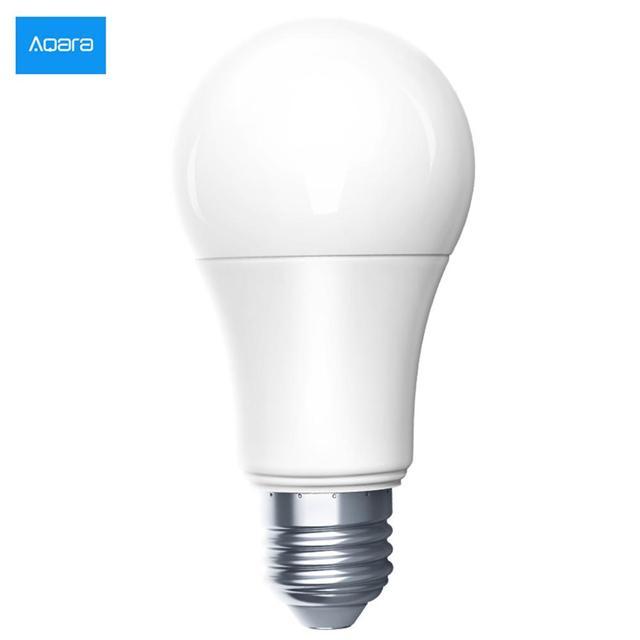 Nouvelle ampoule de LED de couleur blanche intelligente Aqara Zigbee 9W E27 2700K 6500K 806lum