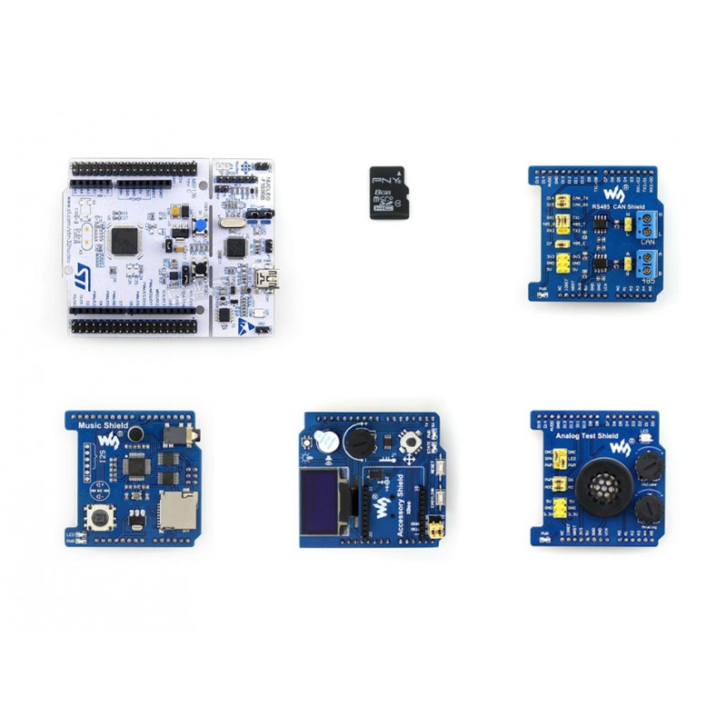 ФОТО Modules ARM STM32 Board NUCLEO-F103RB Package B ST Official STM32 Nucleo Board ST Morpho Headers