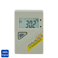 Dual Channel K Thermocouple Temperature Recording Thermometer Logger Detector AZ 88378