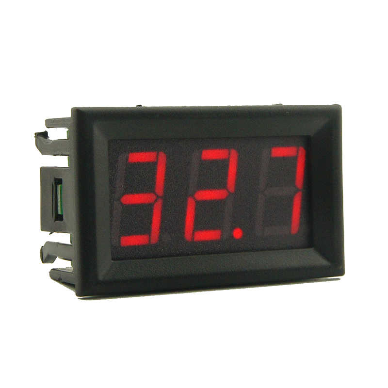 4-30V 0-50A  0.56 inchDC Digital Current Meter (ammeter) Accuracy Class 0.1% Reverse Connection Protection Without Shunt