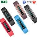 Hot venda relógio do bluetooth NFC HB02 langua multi-o monitoramento da frequência cardíaca à prova d' água esportes pulseira inteligente de monitoramento de saúde do sono