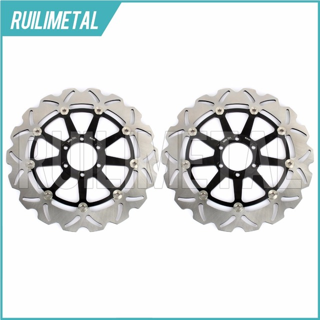 Front Brake Discs Rotors For TZR 250 89 92 FZR R 750 YZF R SP 750 93