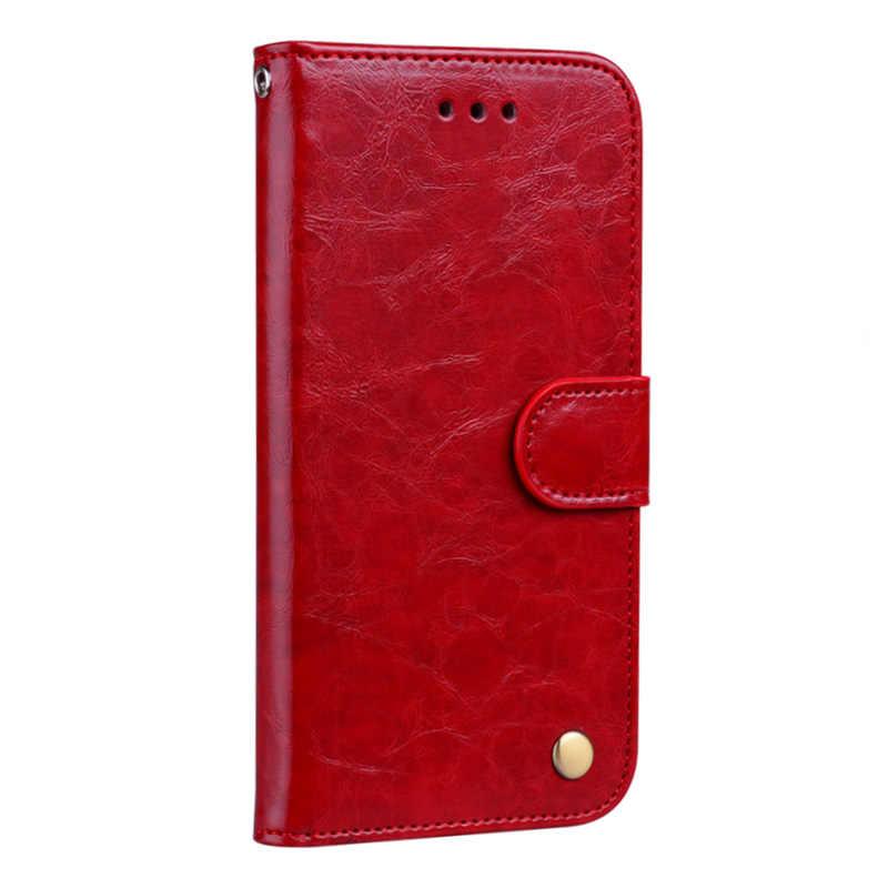 Для samsung S7 мобильный телефон оболочки масло воск кобура Флип Бумажник кожаный шнурок взрывоустойчивой защитной оболочки