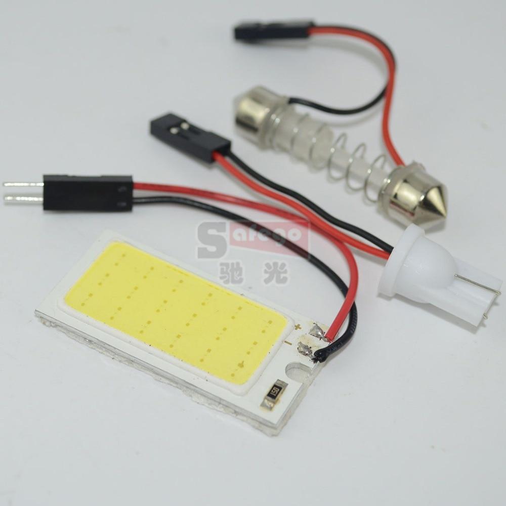 Coche de luz interior cob paneles led 26 mm 16 mm 3 w 18 smd led cob chip de panel llev el - Poner luz interior coche ...