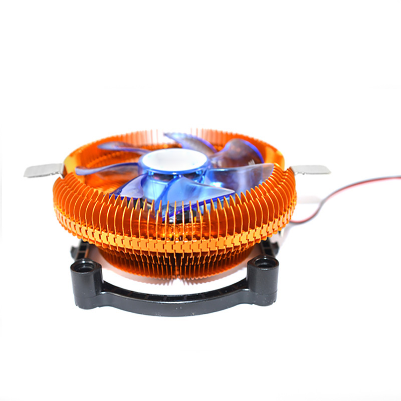 New DC12V 3PIN Silent CPU Cooling Cooler Fan Heatsink Support Intel/AMD CPU With LED hot