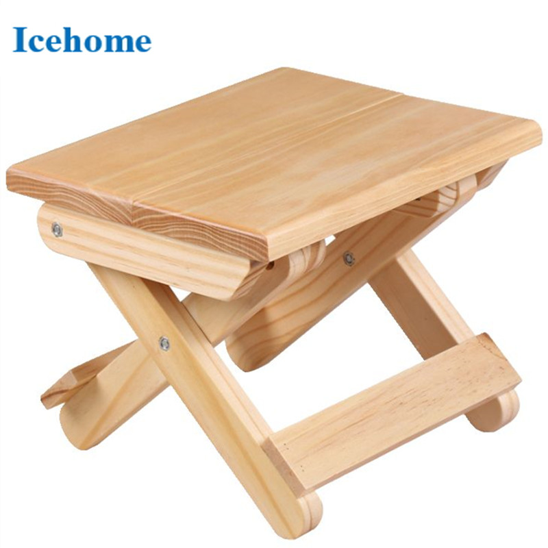 Prime Icehome Solid Wood Eco Friendly Kids Tiny Folding Stool Pabps2019 Chair Design Images Pabps2019Com