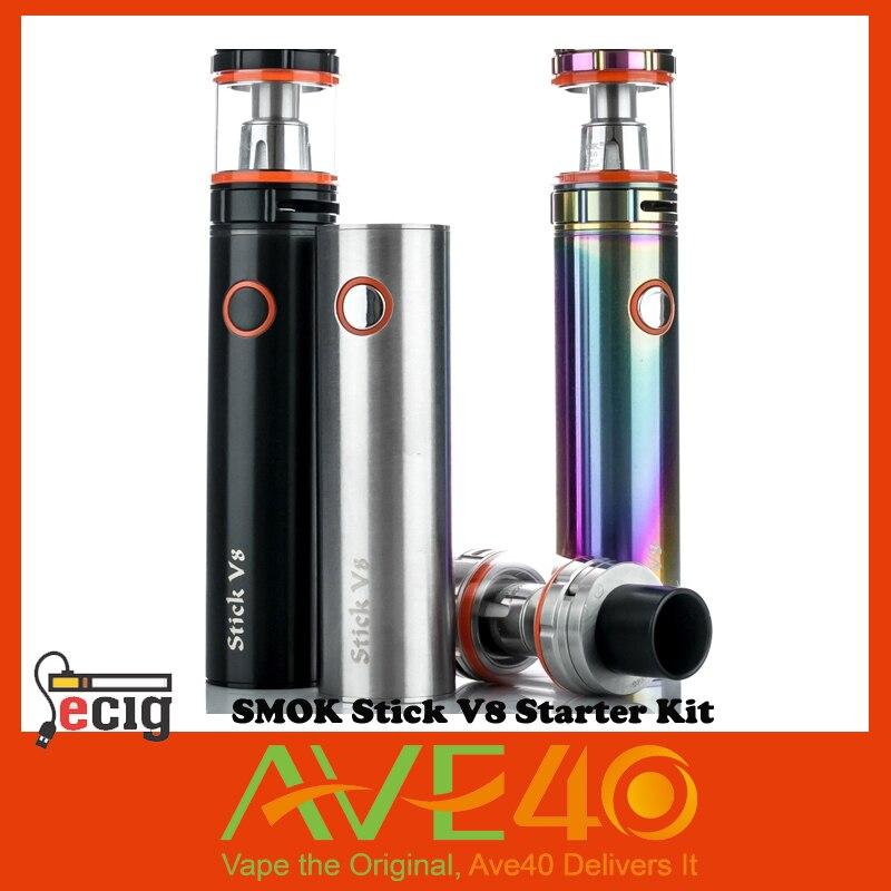 ФОТО 100% Original SMOK Stick V8 Starter Kit 3000mAh With TFV8 Big Baby Tank 5ml