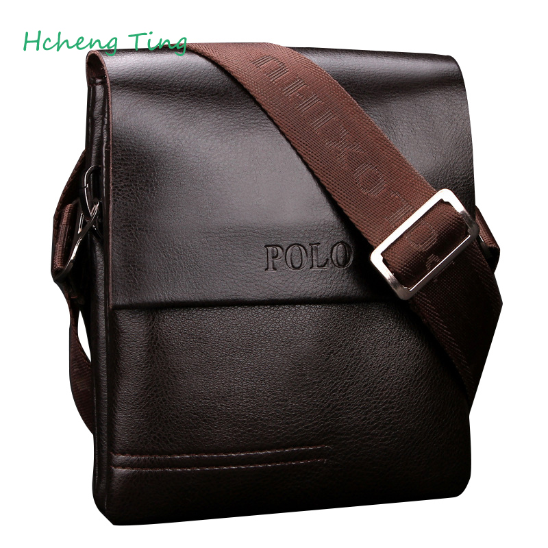 Brand POLO Men s Shoulder Bags High Quality Brand Business Messenger Bag Crossbody Bags Bolsa Masculina