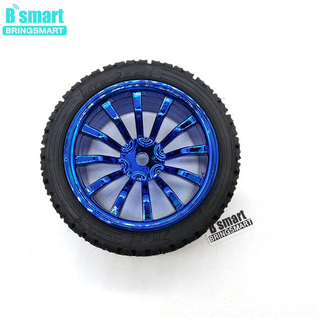 Bringsmart Hexagon Coupling + Wheel for Gear Motor Accessories DIY Shaft Coupling 65mm Tires