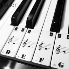 Yuker Piano Keyboard Electronic Keyboard Stickers Decal Label Note Learn Biginners Kid