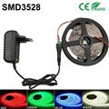 5m 300leds RGB led strip light led/m White/Warm White/Red/Green/Blue/Yellow 3528 led Flexible tape lamp DC12V Home Decoration