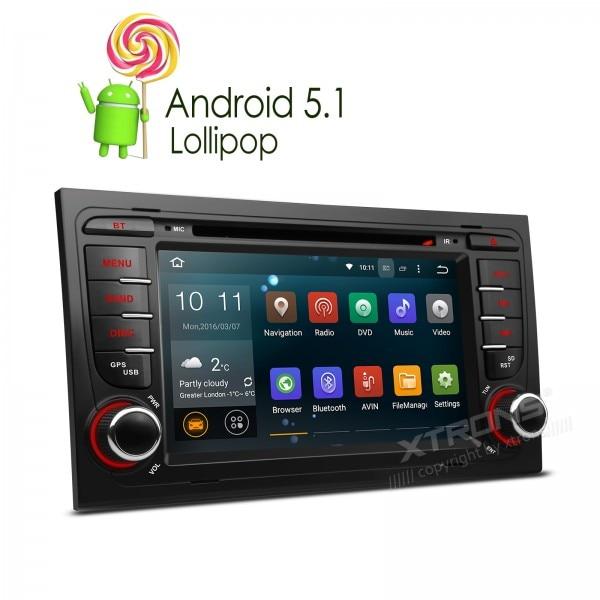 Newest 7 Android 5 1 Lollipop Quad Core WIFI Canbus font b Car b font DVD