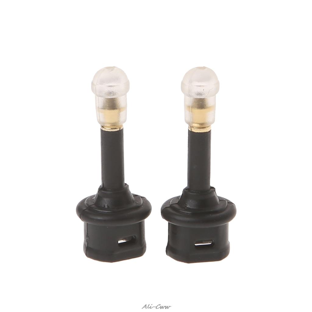 2 Pcs Toslink Female To 3.5mm Male Mini Audio Plug Digital Optical Adapter Converter