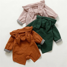 High Quality Baby Rabbit Ears Jacket Boys Girls Autumn Winte