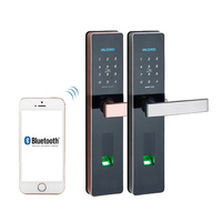 Водонепроницаемый электронный дверной замок, замок отпечатков пальцев, биометрический замок на дверь с Wifi Bluetooth, цифровой замок без ключа б