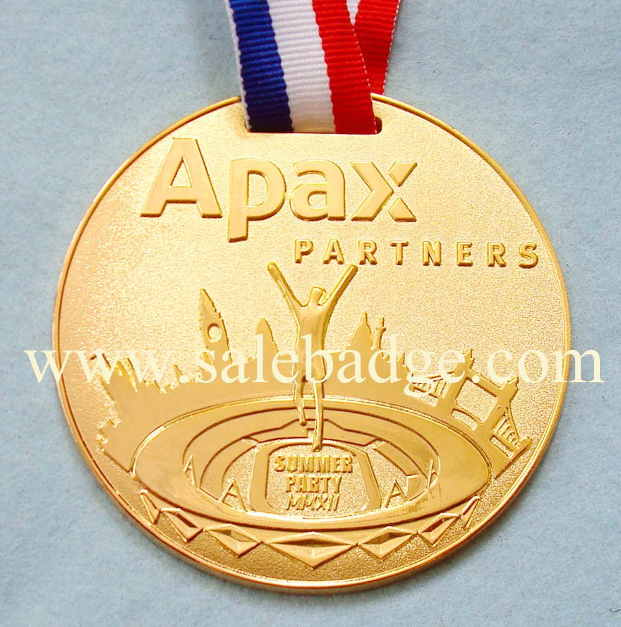 Specialized in Custom Gold Sport Medals Partners Award ...