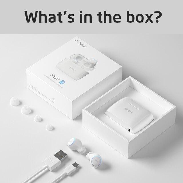 Meizu POP 2 Bluetooth 5.0 Earphone TW50S IP5X In-ear Sports Earphone 6