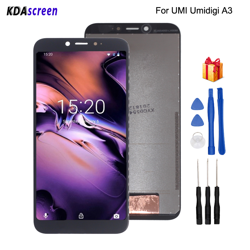 For UMI Umidigi A3 LCD Display Touch Screen Digitizer Replacement For UMI A3 Display Screen LCD Phone Parts Free ToolsFor UMI Umidigi A3 LCD Display Touch Screen Digitizer Replacement For UMI A3 Display Screen LCD Phone Parts Free Tools