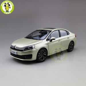 Image 1 - 1/18 C4 C4L Diecast auto modell Spielzeug Kinder Junge Mädchen GESCHENKE Gold