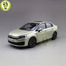 1/18 c4 c4l diecast modelo de carro brinquedos crianças menino menina presentes ouro