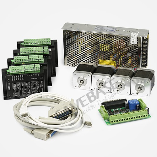 Buy 4 Axis Cnc Controller Kit Nema17