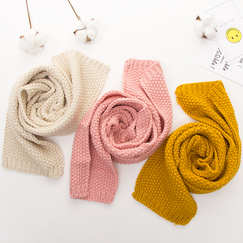 Autumn Winter Warm Boys Girls Collar Baby Scarf Children O Ring Neck Scarves HOT For1-8 Y